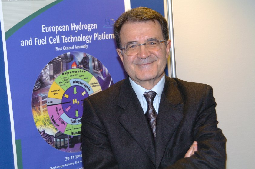Launching of the European Hydrogen and Fuel Cell Technology Platform (HFP) by Romano Prodi, President of the EC