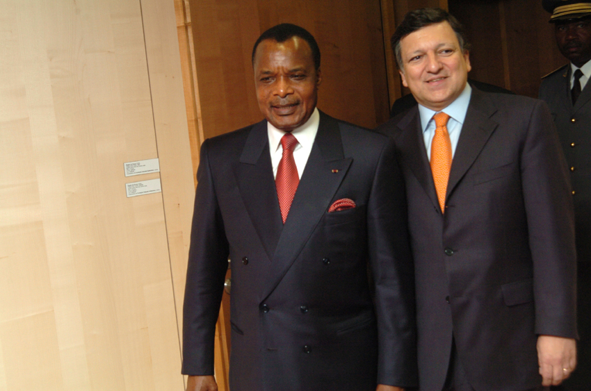 Visit of Denis Sassou-Nguesso, President of Congo, to the EC