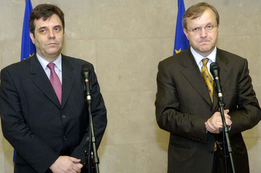 Visit of Boris Tadić, President of Serbia and Vojislav Kostunica, Serbian Prime Minister, to the EC