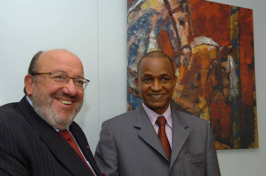 Visit of Cellou Dalein Diallo, Prime Minister of Guinea, to the EC