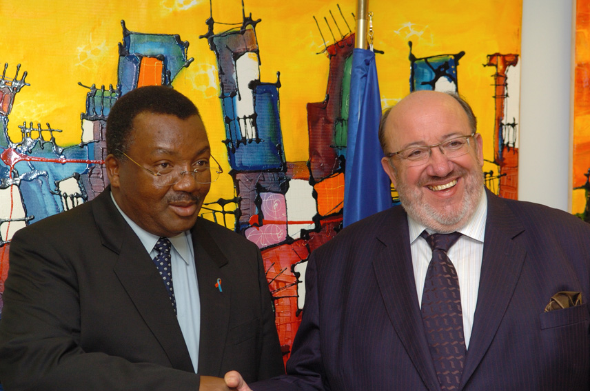 Visit by Absalom Themba Dlamini, Swazi Prime Minister, to the EC