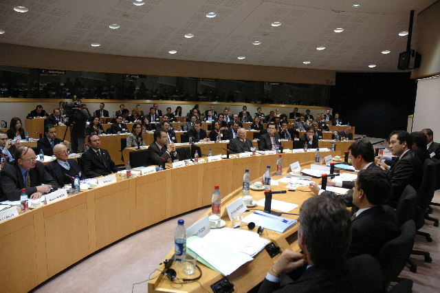 José Manuel Barroso, President of the EC, at the 15th Annual Summit of the European Confederation of Young Entrepreneurs