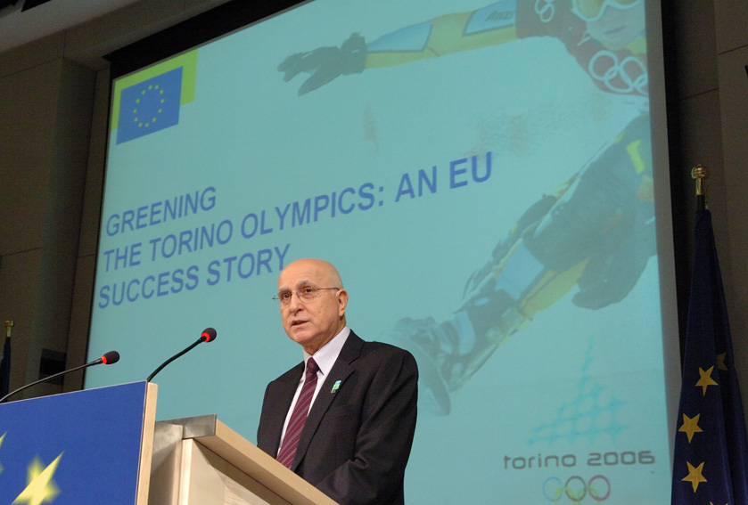 Press conference by Stavros Dimas, Member of EC on
