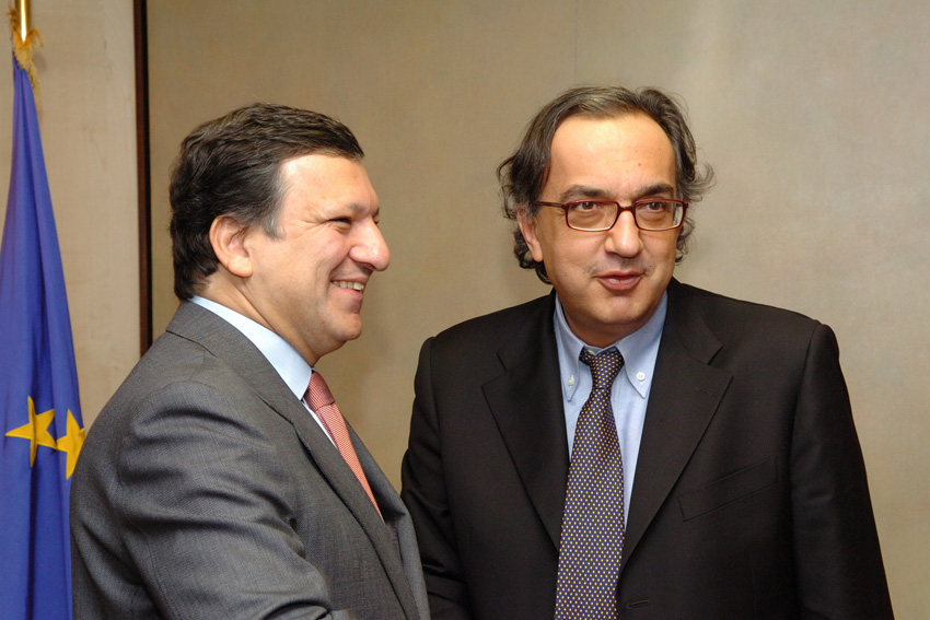 Visit by Sergio Marchionne, CEO of Fiat and Chairman of the European Automobile Manufacturers Association, to the EC