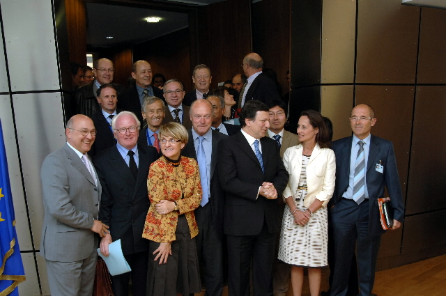 Visit by a delegation of the Presidents of the French Regional Council, members of the ARF, to the EC