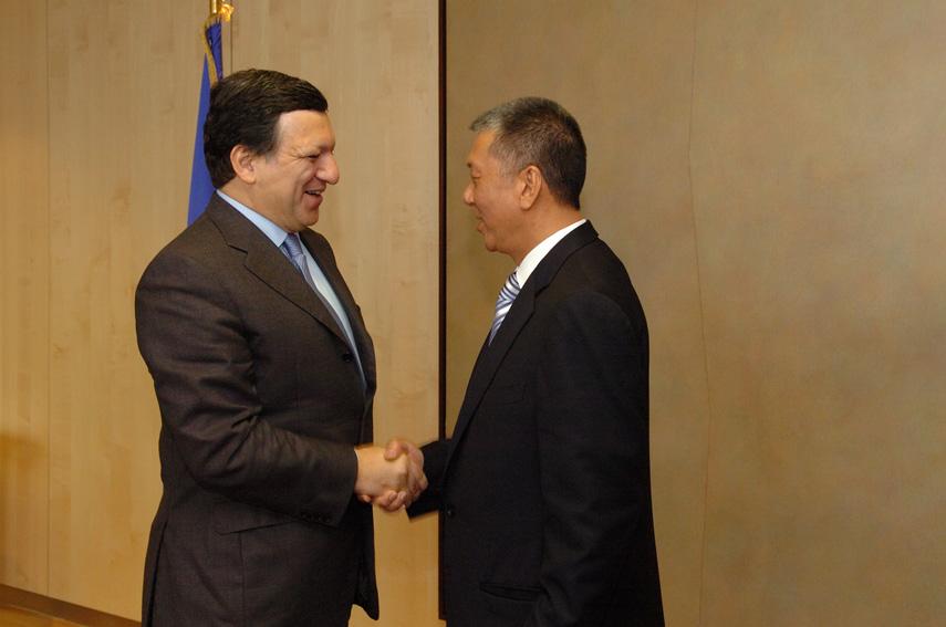 Visit by Edmund Ho Hau Wah, Chief Executive of the Macau Special Administrative Region, to the EC