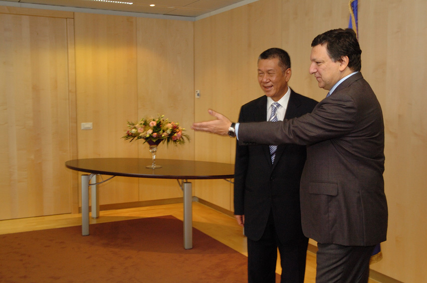 Visit by Edmund Ho Hau Wah, Chief Executive of the Macau Special Administrative Region, to the EC