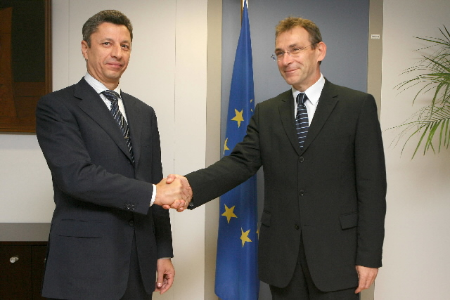 Visit by Yuriy Boyko, Ukrainian Minister for Fuel and Energy, to the EC