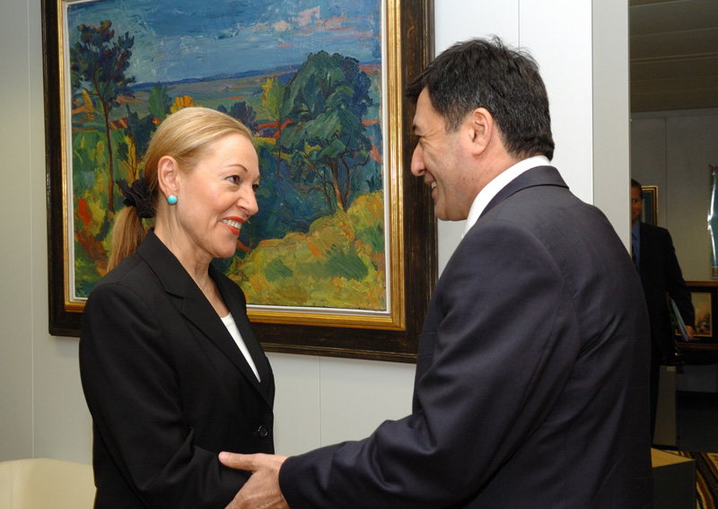 Visit by Vladimir Norov, Uzbek Minister for Foreign Affairs, to the EC