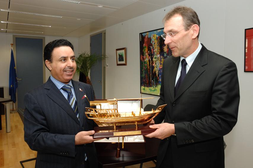 Visit by H.E.Abdulla Falah Abdulla Al-Dosari, Head of the Qatar Mission by the EC