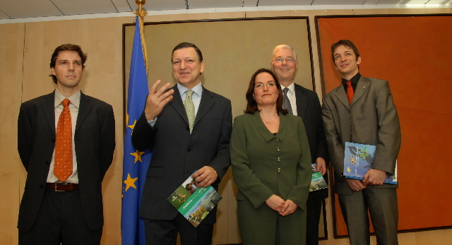 Visit by a delegation from the NGO BirdLife, to the EC