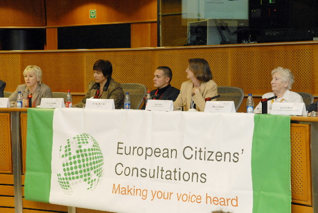 Participation of Margot Wallström, Vice-President of the EC, at the final conclusions of the European Citizens' Roundtable at the EP