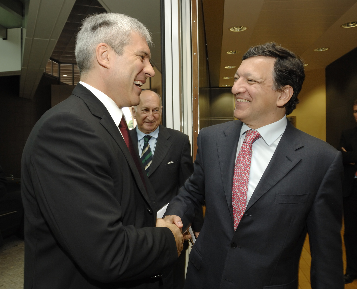 Visit by Boris Tadić, President of Serbia, to the EC