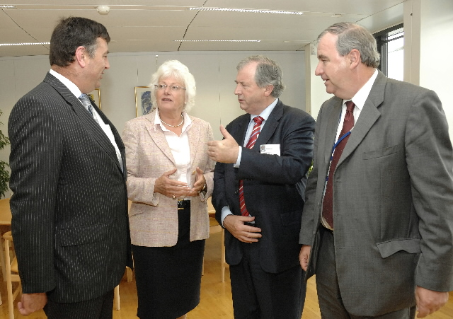 Visit of a delegation from the Irish Farmers Association to the EC