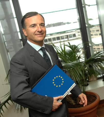 Portraits of Franco Frattini, Vice-President of the EC
