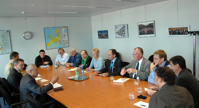 Visit of a delegation from the European Transport Workers Federation, to the EC