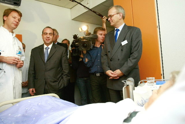 Visit by Markos Kyprianou, Member of the EC, to the the Academic Hospital of Maastricht
