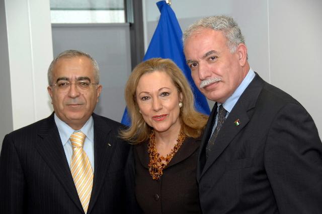 Visite de Salam Fayyad, Premier ministre et ministre des Finances de l'Autorité palestinienne, à la CE