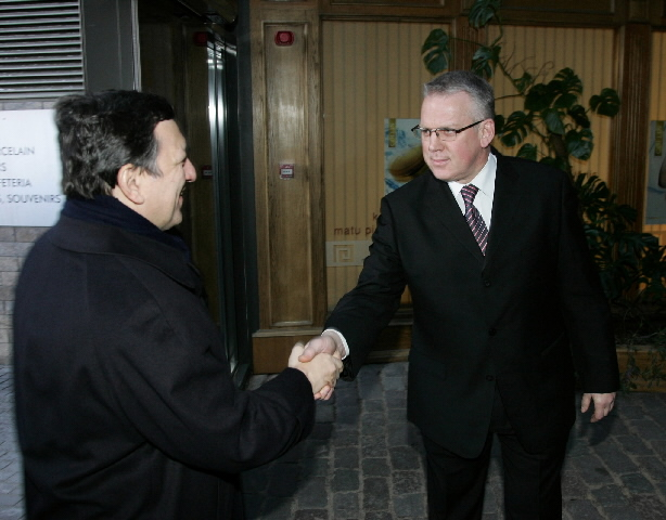 Visit by José Manuel Barroso, President of the EC, to Latvia