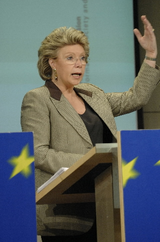 Press conference by Viviane Reding on the  Progress Report on the Single European Telecoms Market