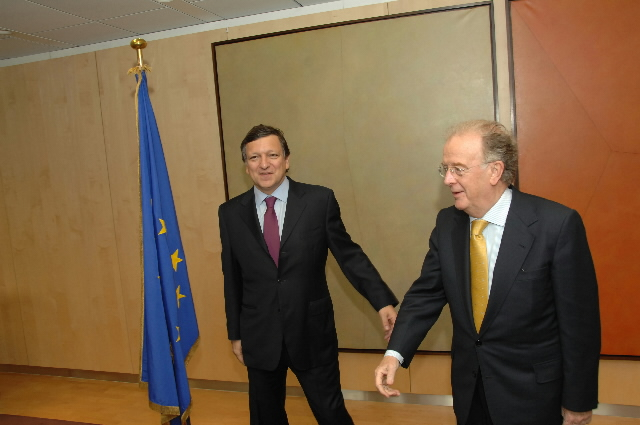 Visit by Jorge Sampaio, High Representative of the United Nations for the Alliance of Civilizations, to the EC