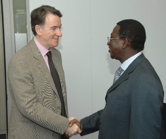 Visit of Soumaïla Cissé, chairman of the UEMOA, to the EC