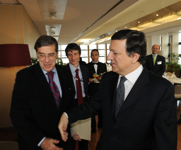 Participation of José Manuel Barroso, President of the EC, in the debate on literary translation and culture