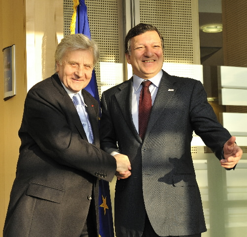 Visit of Jean-Claude Trichet, President of the ECB, to the EC