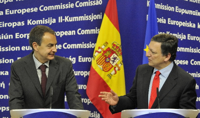 Visit of José Luis Rodríguez Zapatero, Spanish Prime Minister, to the EC