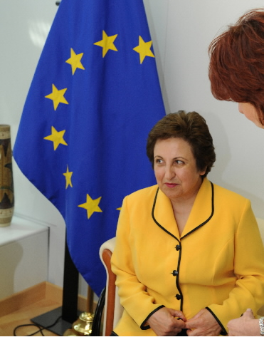 Visit of Shirin Ebadi, Iranian lawyer, Human Rights activist, to the EC