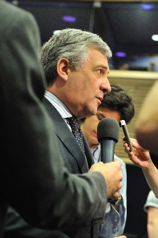 Press conference by Antonio Tajani, Vice-President of the EC, on road safety statistics