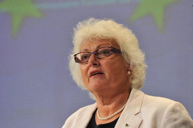 Conférence de presse de Mariann Fischer Boel, membre de la CE, sur la situation du marché laitier