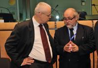 Participation de José Manuel Barroso, président de la CE, au sommet tripartite