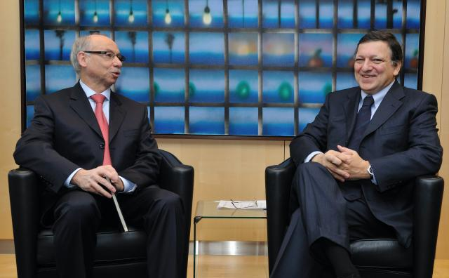 Weekly Meeting of the Barroso Commission