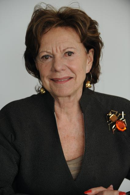 Neelie Kroes,vice-présidente de la CE chargée de l'Agenda digital