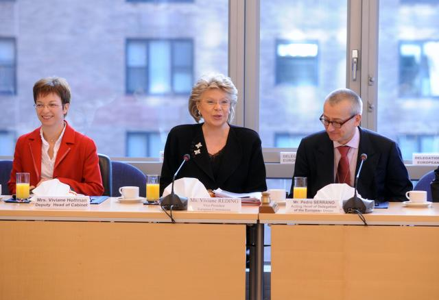 Participation of Viviane Reding, Vice-President of the EC, at the United Nations High Level Conference on the Status of Women