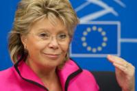 Joint press conference by Viviane Reding, Vice-President of the EC, and Cecilia Mallmström, Member of the EC, on the measures to bolster citizens' data protection