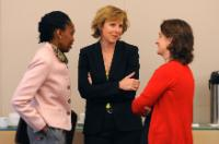 Visite de Connie Hedegaard, membre de la CE, à New York