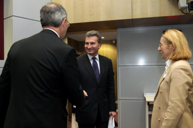Visite de représentants de compagnies pétrolières à la CE