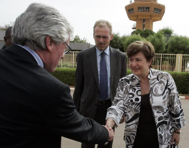Visit of Kristalina Georgieva, Member of the EC, to Niger
