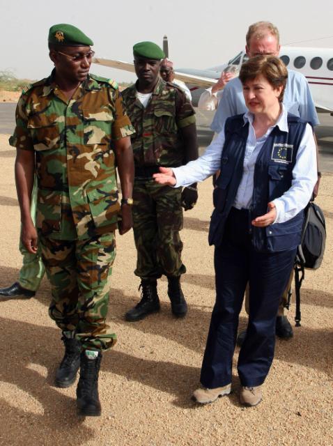 Visit of Kristalina Georgieva, Member of the EC, to Niger