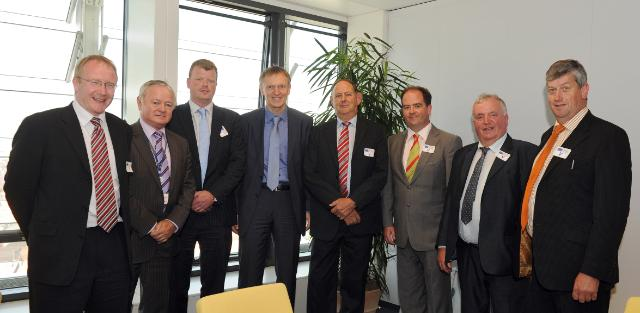 Visit of Jim Higgins, Member of the EP, to the EC