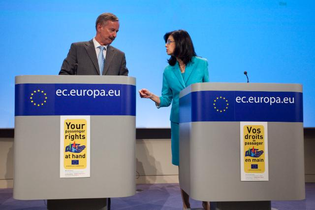 Participation of Siim Kallas, Vice-President of the EC, at the launch of the Your passenger rights at hand campaign