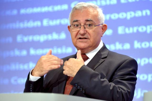Press conference by John Dalli, Member of the EC, on the responsability for Member States cultivating GMOs