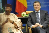Meeting between José Manuel Barroso, President of the EC, and Amadou Toumani Touré, President of Mali
