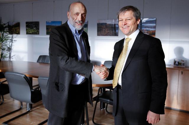 Visite de Carlo Petrini, fondateur du Mouvement international Slow Food, à la CE