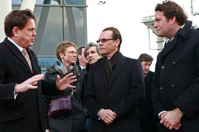 Visit of Algirdas Šemeta, Member of the EC, to the port of Rotterdam