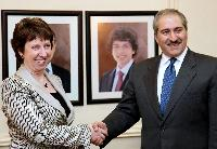 Visit of Catherine Ashton, Vice-President of the EC, to Amman