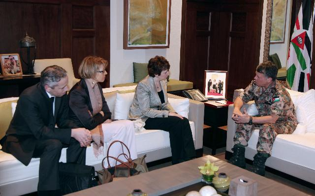 Visit of Catherine Ashton, Vice-President of the EC, to Amman