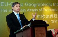 Visite de Dacian Cioloş, membre de la CE, en Chine